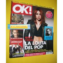Miley Cyrus U2 Bono Revista Ok 2010 Jake Gyllenhaal