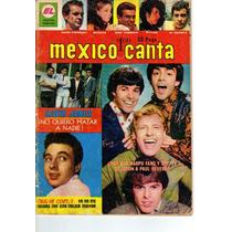 Tlax Revista México Canta #243 Cesar Costa Y Los Monkees