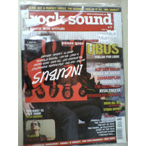 Rock Sound Revista 71 Incubus Musica Y Cd 13 Temas Y Un Vide