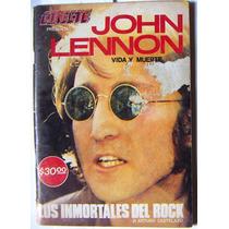 Libro Rock, Conecte, John Lennon, Los Inmortales Del Rock