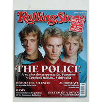 2005 The Police Sting Revista Rolling Stone Mexico #33