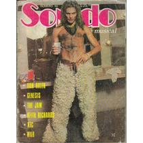 Revista De Rock Sonido Presenta A: Van Halen,genesis,xtc,