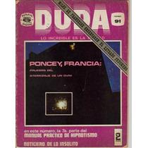 Revistas Duda. (editorial Posada)$ 40.00(1973) 1ra.edicion.