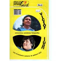 Album De Guitarra Facil No.4 Victor Iturbe Y Juan Gabriel