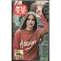 Daniela Romo Bellísima En Revista Teleguía Octubre 1981