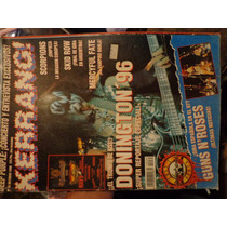 Revista Kerrang Portada Gene Simmons De Kiss Original 1996