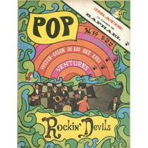 Revista Pop # 14 ·agosto 23 1968 · Rockin Devils · Bee Gees