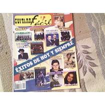 Revista Guitarra Facil # 634 Exitos De Hoy Y Siempre