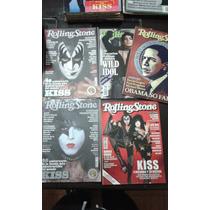 Kiss Set Revistas Rolling Stone