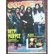 Revista Conecte,idre Straits,def Leppard,kiss,deep Purple
