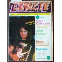 Revista En Caliente Conecte,john Lennon,the Doors,ozzy,kiss