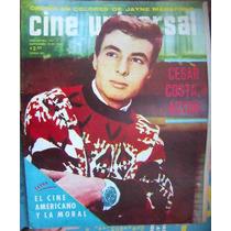 Revista Cine Universal,cesar Costa,tere Velazquez