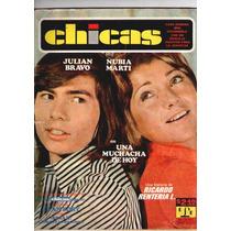 Julian Bravo Y Nubia Marti En Portada Oct.4 1973
