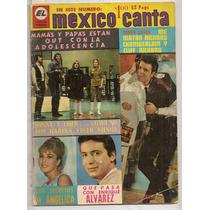 Revista México Canta Enrique Alvarez Félix Estampas 1967