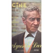 Revista Cine Confidencial Agustin Lara Antigua