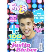 Revista Trivia Justin Bieber (nueva Y Original) Gratis Envío