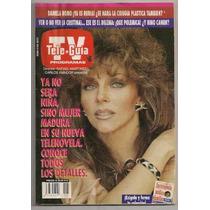 Verónica Castro Corazon Salvaje Revista Teleguía Abril 1993