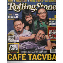 Rolling Stone Núm. 8 Portada Cafe Tacuba Del 2003 Mmy