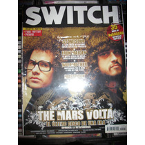 Switch #118 Revista Con Completo Reportaje De The Mars Volta