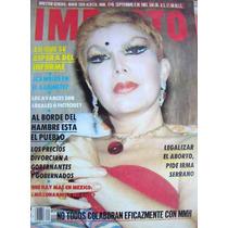 Revista , Impacto, Irma Serrano En Portada