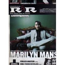 Revista R&r Marilyn Manson En Portada