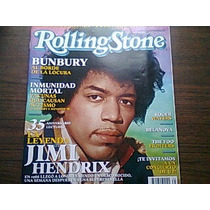 Revista Rolling Stones Jimi Hendrix