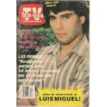 Eduardo Yáñez Luis Miguel Revista Teleguía De 1988