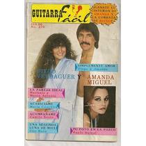 Amanda Miguel Diego Verdaguer Revista Guitarra Fácil De 1984