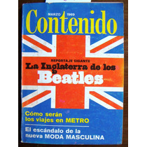Revista Contenido,beatles N°70