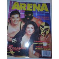 Lucha Libre Revista Arena Los Intocables En Portada 1993