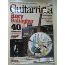Guitarrista Revista 167 Rory Gallagher Michel Schenker