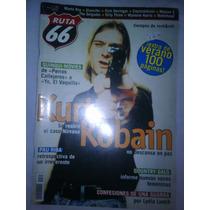 Kurt Kobain En Revista Ruta 66 Portada Y Reportaje 2000