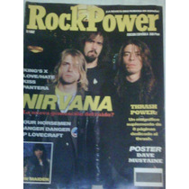 Nirvana En Revista Rock Power Portada Y Reportaje 1992