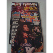 Lote De 2 Revistas Iron Maiden De Coleccion Mosca Heavyrock