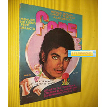 Michael Jackson Victoria Ruffo Revista Fans 1984 Menudo