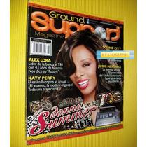 Donna Summer Revista Ground Support El Tri Carlos Santana
