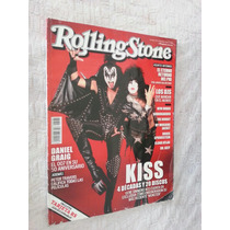 Kiss Daniel Craig Revista Rolling Stone Mexico 2012