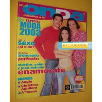Martha Higareda Yahir Revista Onda Ov7 Jeans Aguilera Ateens