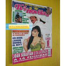 Joan Sebastian Maribel Guardia Revista Tv Y Novelas 1997