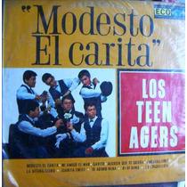 Rock Mexicano, Los Teen Agers, ( Modesto El Carita), Lp 12´