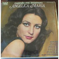 Angelica Maria, Cuando Me Enamoro Lp 12´, Rock Mexicano