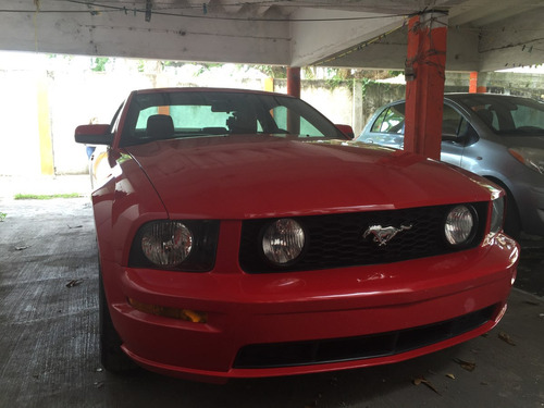 Mustang Gt Vip 2007 Rojo Interior Rojo