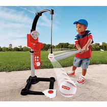 Fisher Price Juego De Base Ball Entrenador De Bateo