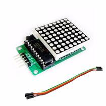 Matriz Led 8x8 Max7219 Todo En Arduino Uno Nano Mini Rele