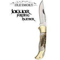 Navaja Ole Smokey Cuerno De Venado 100% Gen. Mod: Jaguar