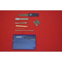 Vn7222 Victorinox Swisscard Quattro Azul Multiusos