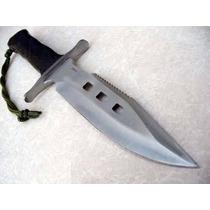 Envio Gratis Cuchillo De Acero Tipo Militar Cfunda Mod 8276