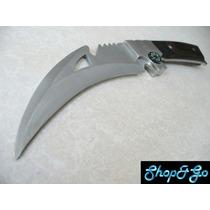 Cuchillo Acero Full Tang C Funda M6624 Envio Incluido X Dhl