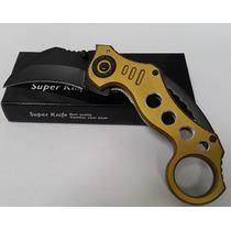 Navaja Karambit Super Knife Con Cuhcilla Al Carbon Espadas