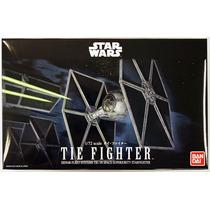 Bandai Star Wars Tie Fighter Con Darth Vader Escala 1/72